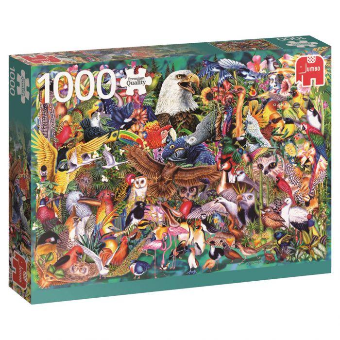 Puzzel Dierenrijk 1000 Stukjes