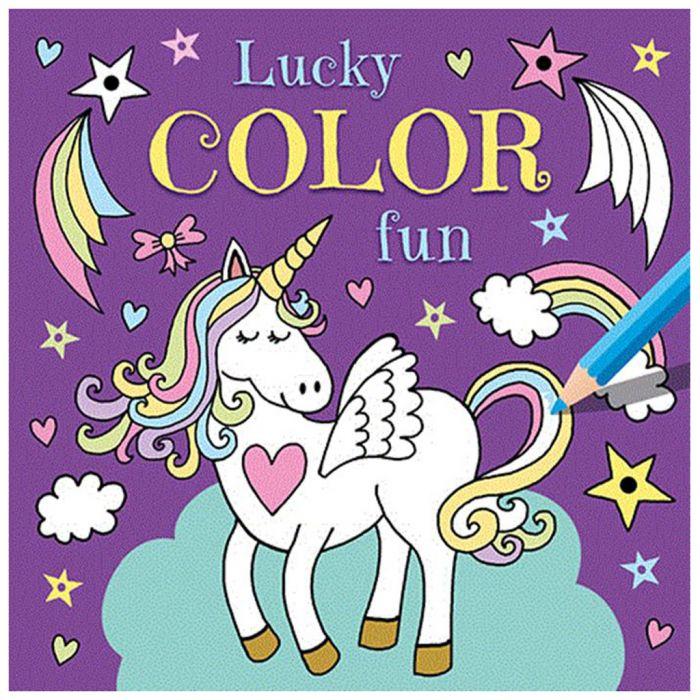 Kleurboek Lucky Color Fun Unicorn