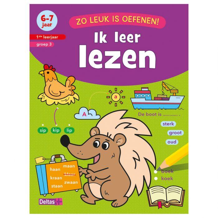 Boek Zo Leuk Is Oefenen - Ik Leer Lezen (6-7 Jaar) - Top1Toys