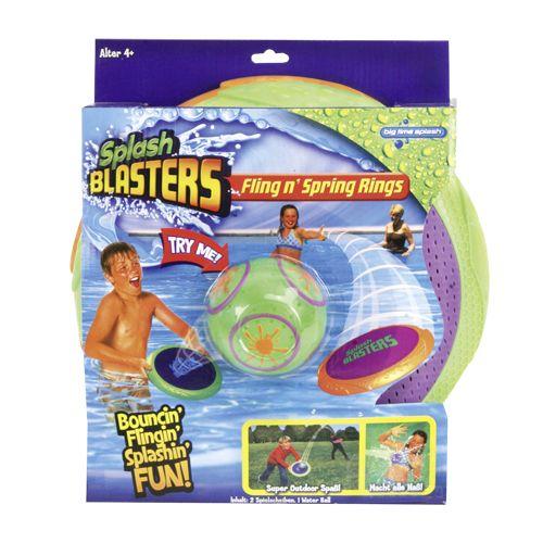 Waterset Splash Blasters Fling 'N Spring Rings