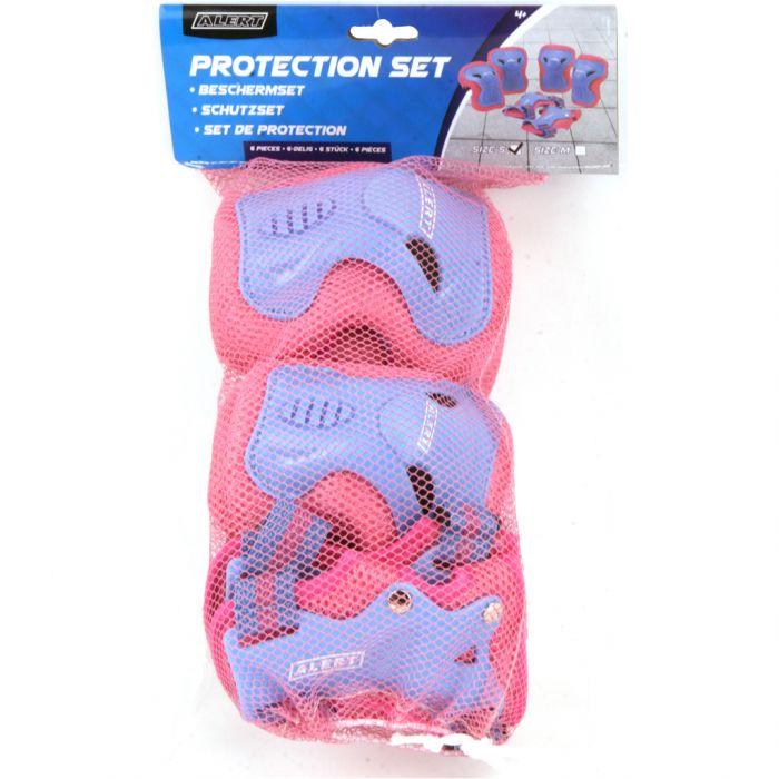 Beschermset Alert 3-Delig Roze Maat M