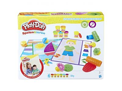 Play-Doh Structurem & Gereedschap