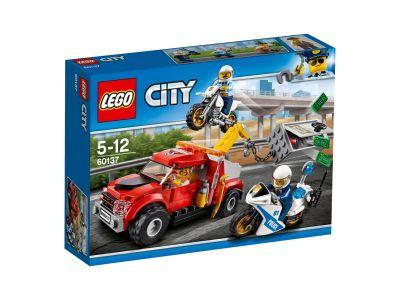 LEGO City Police 60137 Sleeptruck probleem