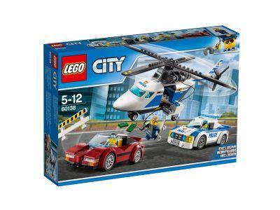 LEGO City Police 60138 Snelle achtervolging