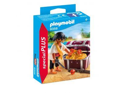Playmobil 9358 Piraat Met Schatkist