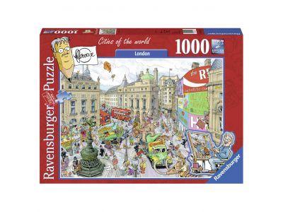 Puzzel Fleroux Londen 1000 Stukjes