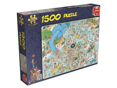 Puzzel Jan Van Haasteren Zwemparadijs 1500 Stukjes
