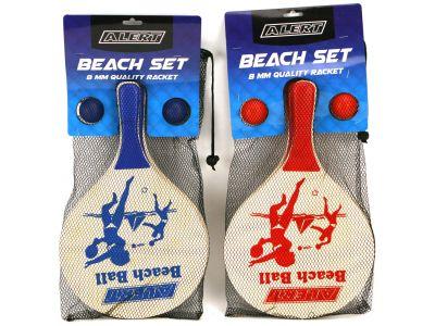 Beachball Set Hout Deluxe Alert