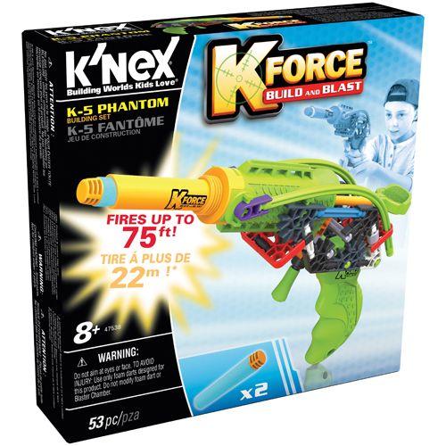 K'NEX K-Force K-5 Phantom Building Set