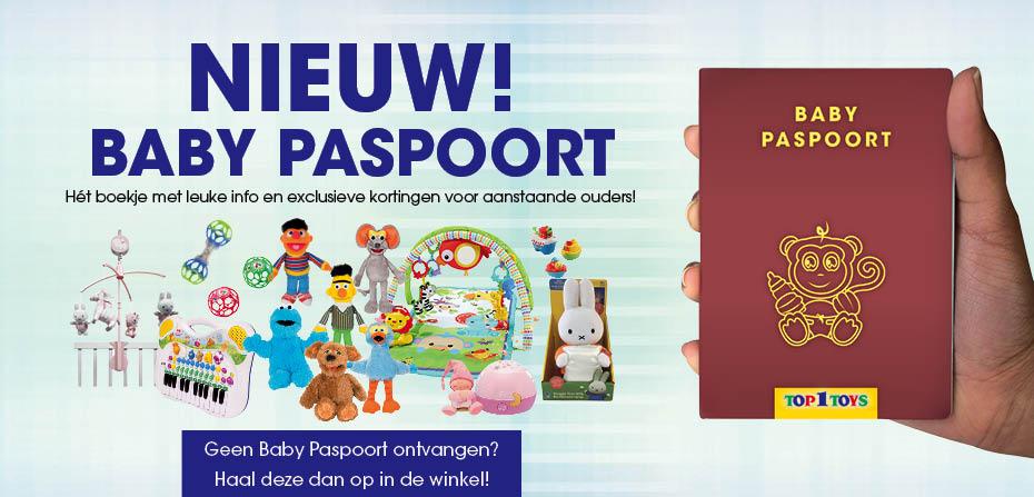 Top 1 Toys Baby Paspoort